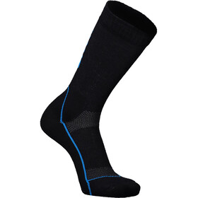 "Mons Royale MTB 9"" Tech Socks Herr Black/Downhill Blue"